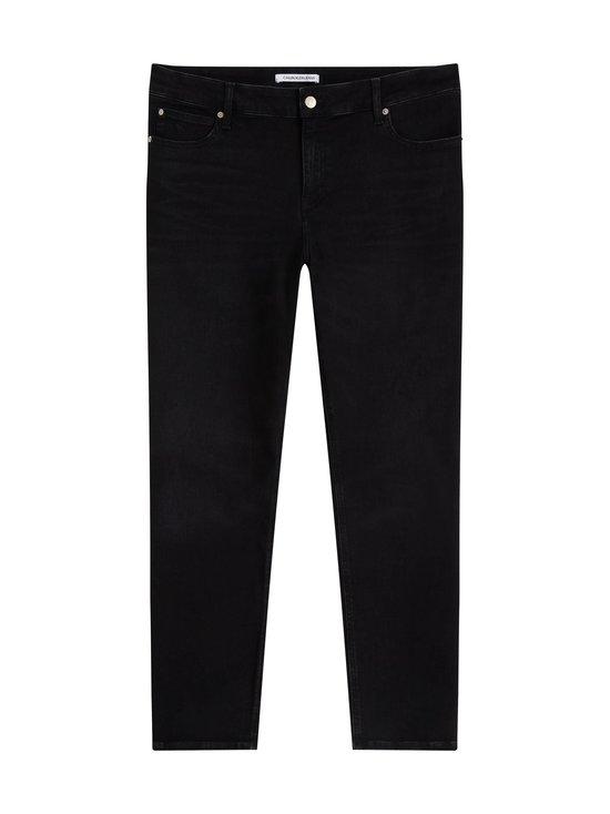 Calvin Klein Jeans Plus - Plus Size High Rise Skinny Ankle -farkut - 1BY DA050 BLACK | Stockmann - photo 1