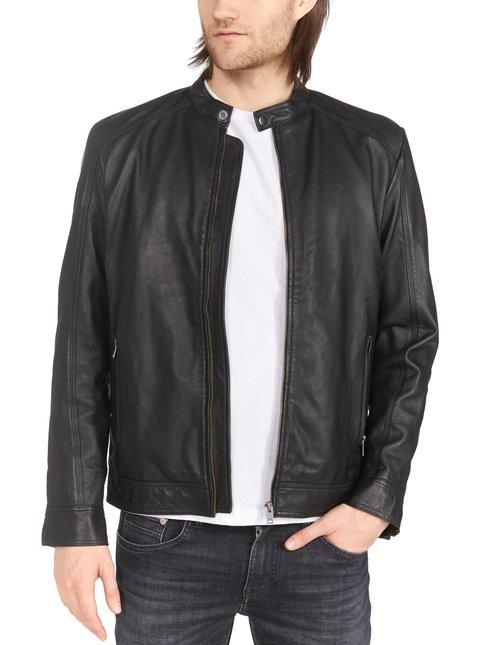 SlhDallas Leather -nahkatakki