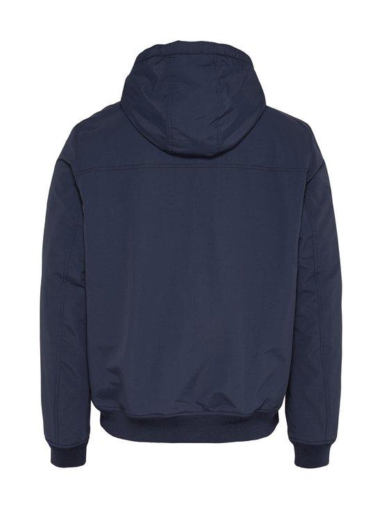 Tommy Jeans - Tommy Badge Padded Zip-Thru Jacket -takki - C87 TWILIGHT NAVY | Stockmann - photo 3