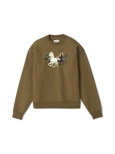 Kenzo - Chevaux Sweat -paita - 50 KHAKI | Stockmann