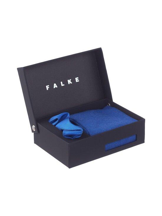 Falke - Airport Gift Box -nilkkasukat ja silkkitaskuliina - SAPPHIRE 6055 | Stockmann - photo 2