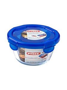 Pyrex - Cook & Go -kannellinen säilytysrasia 0,7 l - KIRKAS/SININEN | Stockmann