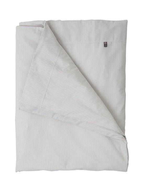 Lexington - Baby Pin Point -vauvan pussilakana 100 x 130 cm - GRAY/WHITE   Stockmann - photo 1