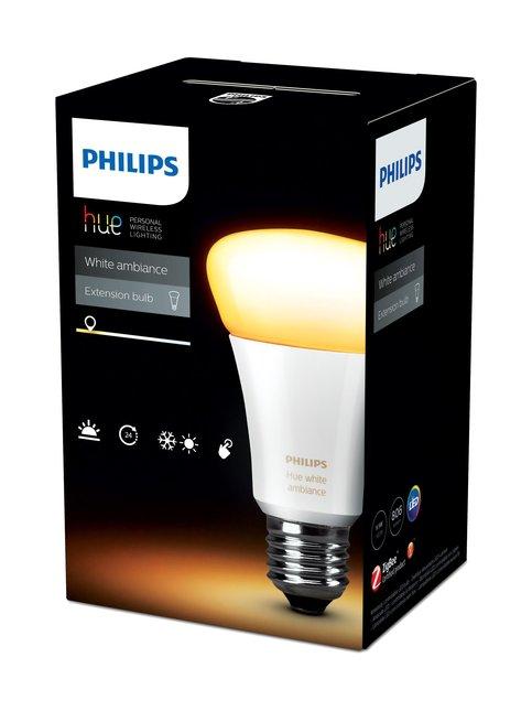 Hue White Ambiance 9,5W E27 -lamppu