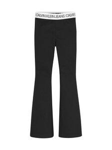 Calvin Klein Kids - LOGO WAISTBAND PUNTO -housut - BAH CK BLACK | Stockmann