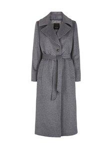 SAND Copenhagen - Cashmere Coat W - Clareta Belt -villakangastakki - 160 MEDIUM GREY | Stockmann