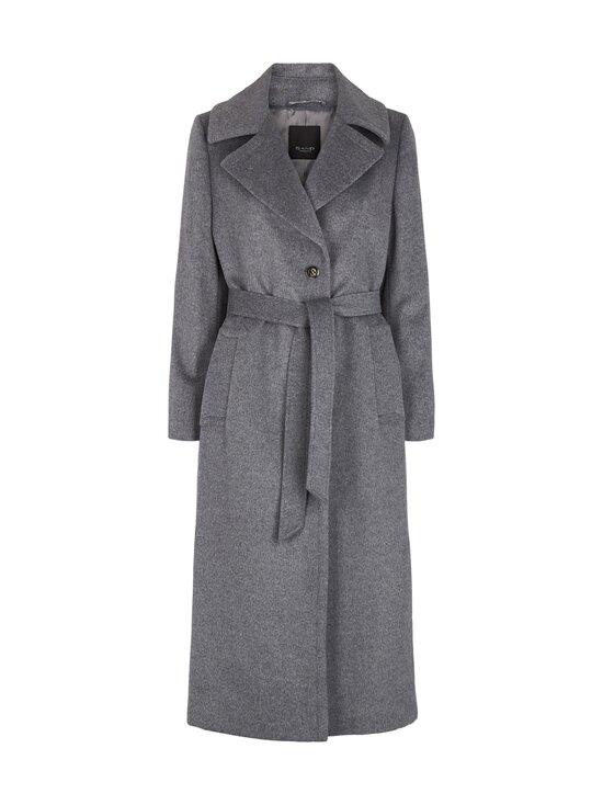 SAND Copenhagen - Cashmere Coat W - Clareta Belt -villakangastakki - 160 MEDIUM GREY   Stockmann - photo 1