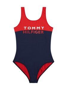 Tommy Hilfiger - Colour-Blocked Logo -uimapuku - XL7 RED GLARE 105-670 | Stockmann