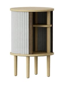UMAGE - Audacious-sivupöytä 380 x 380 x 590 mm - SILVER GREY | Stockmann