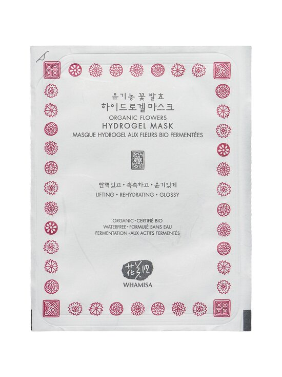 Whamisa - Organic Flowers Hydrogel Mask -hydrogeelinaamio 33 g - NOCOL | Stockmann - photo 1