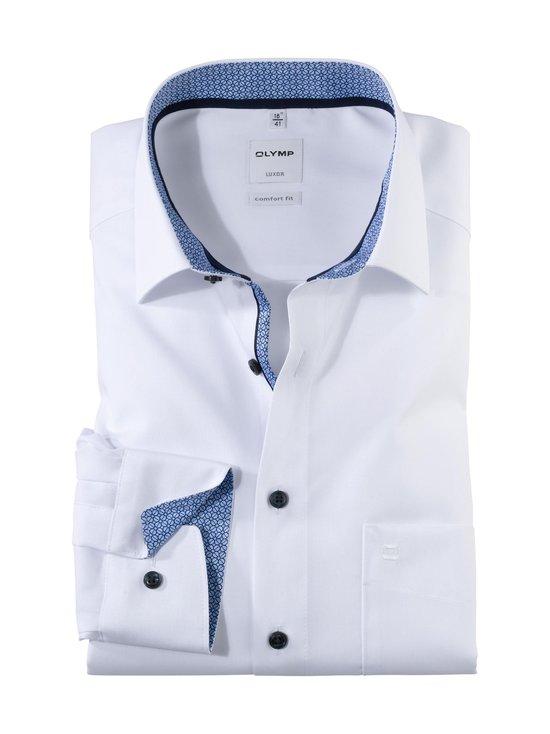 Olymp - Comfort Fit -kauluspaita - 00 WHITE W/BLUE   Stockmann - photo 1