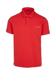 Emporio Armani - Polo Sleeve -pikeepaita - 00175 RED | Stockmann