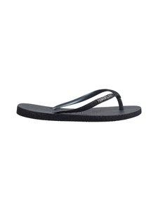 Havaianas - Slim Sparkle Flip Flops -varvassandaalit - 0090 BLACK   Stockmann