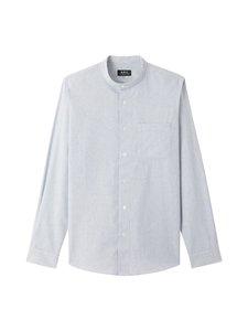 A.P.C - Mark Shirt -kauluspaita - IAH BLEU FONCE   Stockmann