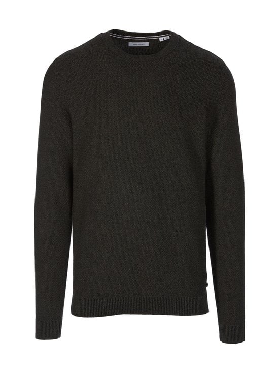 Jack & Jones - JjeAaron-puuvillaneule - FOREST NIGHT DETAIL:W. BLACK | Stockmann - photo 1