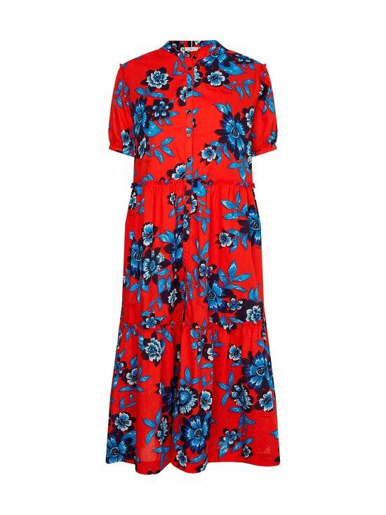 Tommy Hilfiger Curve - Crv Floral F&F Long Dress -mekko - 0KV HOT HOUSE FLORAL / FIREWORKS | Stockmann - photo 1