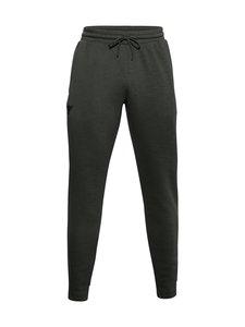 Under Armour - Pjt Rock Cc Fleece Pant -housut - 310 BAROQUE GREEN / / BLACK | Stockmann
