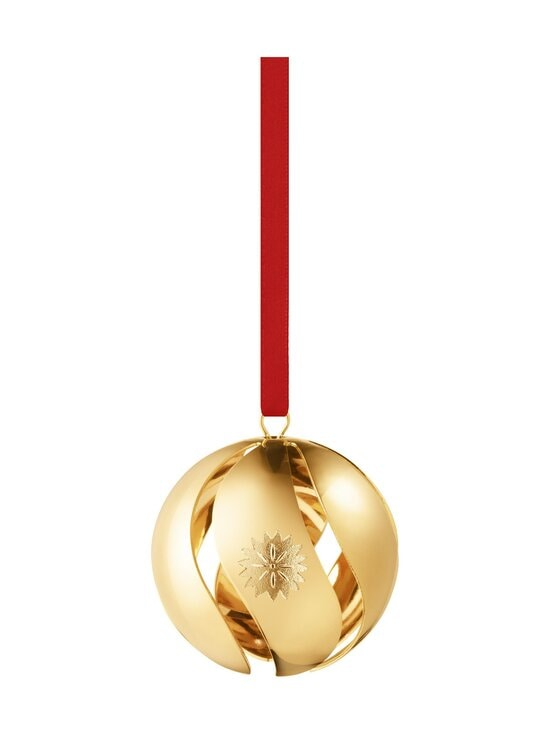 Georg Jensen - 2020 Christmas Ball -joulukoriste - GOLD | Stockmann - photo 1
