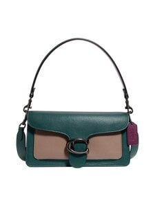 Coach - Tabby Shoulder Bag 26 In Colorblock -nahkalaukku - V5NWQ V5/FOREST MULTI | Stockmann