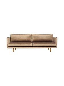 Hakola - Lazy Velvet -sohva - HARMAANRUSKEA | Stockmann