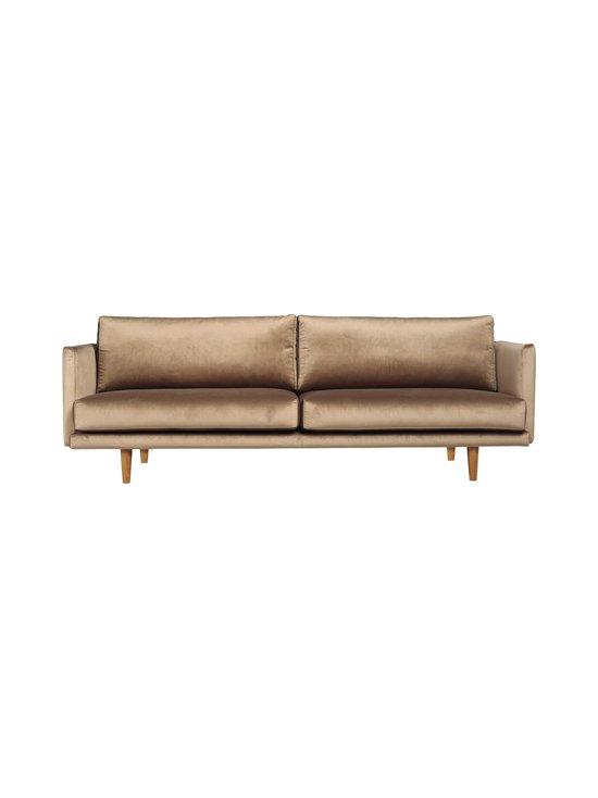 Hakola - Lazy Velvet -sohva - HARMAANRUSKEA   Stockmann - photo 1