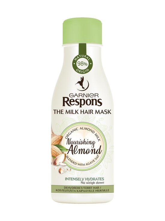 Garnier - ResponsThe Milk Hair Mask Nourishing Almond -hiusnaamio 250 ml - NOCOL | Stockmann - photo 1