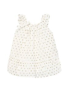 Mayoral - Perforated Dotted -mekko - 64 NATURAL | Stockmann