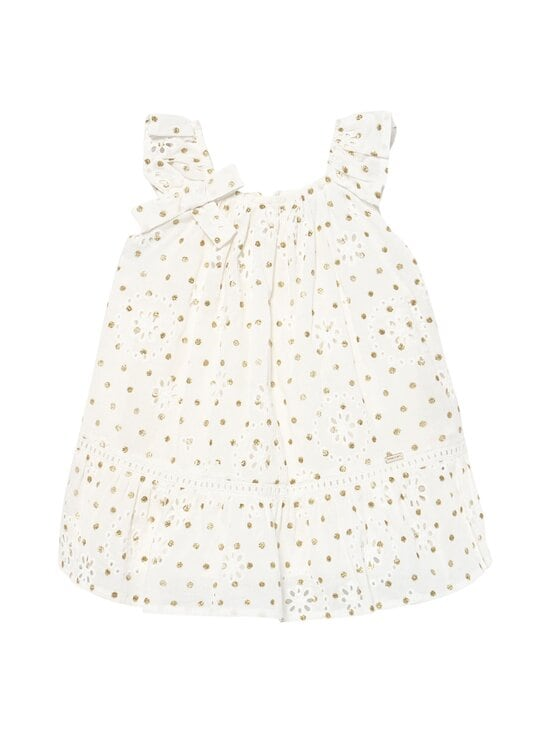 Mayoral - Perforated Dotted -mekko - 64 NATURAL | Stockmann - photo 1