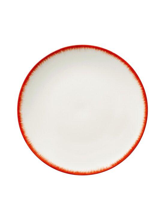 Serax - Dé Tableware by Ann Demeulemeester -lautanen 28 cm - OFF-WHITE/RED | Stockmann - photo 1