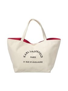 Karl Lagerfeld - K/Rue St Guillaume Canvas Tote -laukku - 106 NATURAL | Stockmann