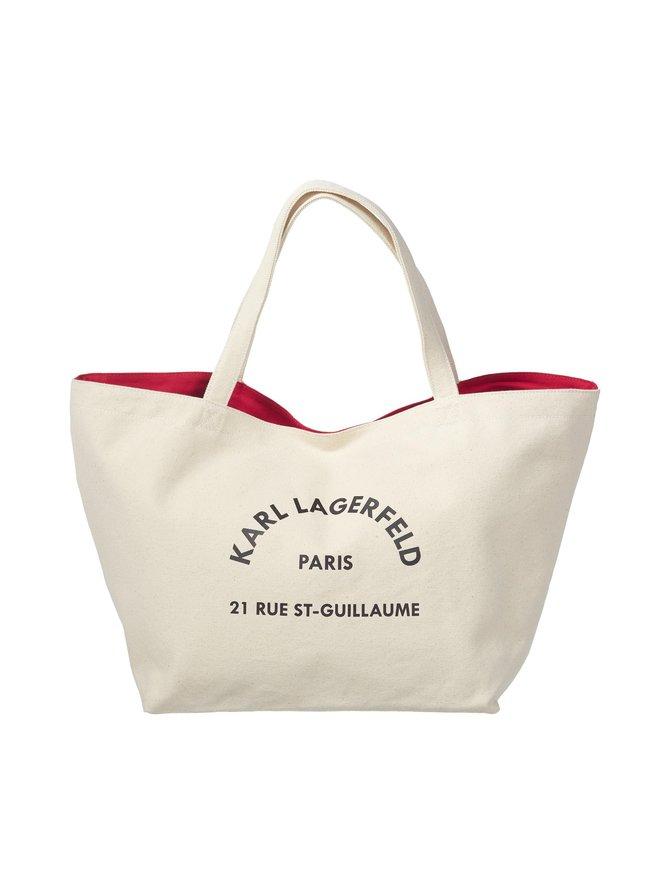 K/Rue St Guillaume Canvas Tote -laukku