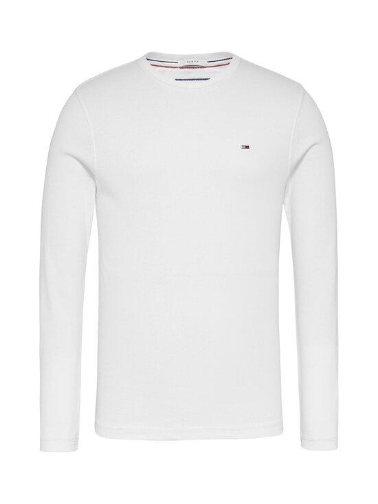 Tommy Jeans - Tjm Original Rib Longsleeve Tee -paita - 100 CLASSIC WHITE   Stockmann - photo 1