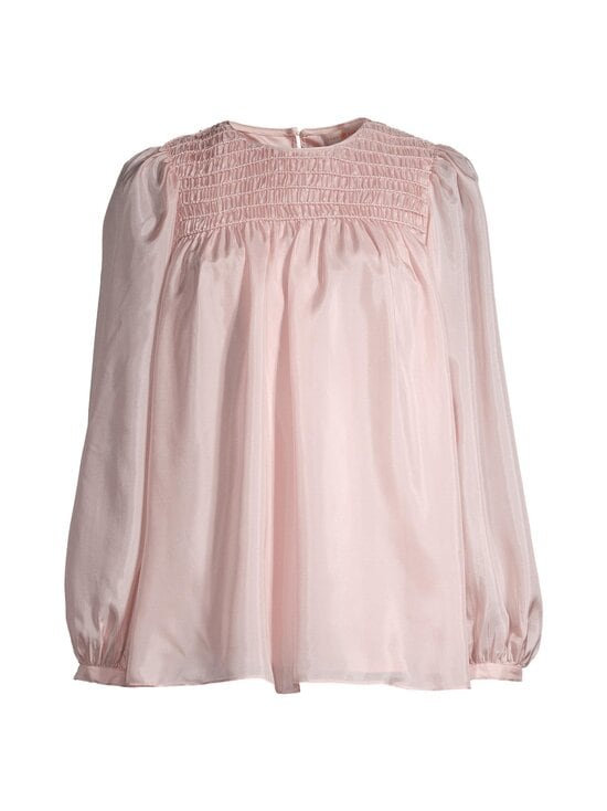 Tory Burch - Corded Top -silkkipusero - 654 ICED PINK | Stockmann - photo 1
