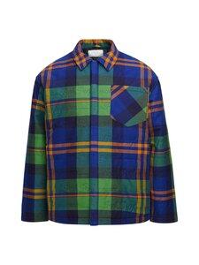 Peak Performance - Ben Gorham Flannel Overshirt Unisex -paita - 2BC ISLAND BLUE | Stockmann