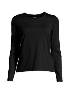 Casall - Essential Iconic Long Sleeve -treenipaita - 901 BLACK | Stockmann