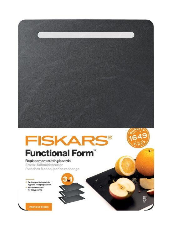 Fiskars - Functional Form muovinen leikkuulauta 3 kpl - BLACK | Stockmann - photo 2