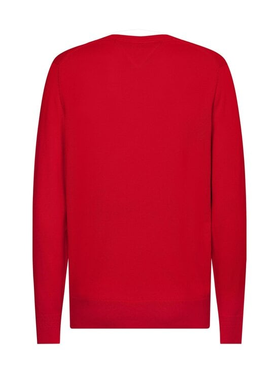 Tommy Hilfiger - Organic Cotton Blend Crew Neck -neule - XLG PRIMARY RED | Stockmann - photo 2