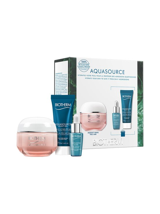 Biotherm - Aquasource Cream Dry Skin Set -tuotepakkaus kuivalle iholle 50 + 7 + 20 ml - NOCOL   Stockmann - photo 1