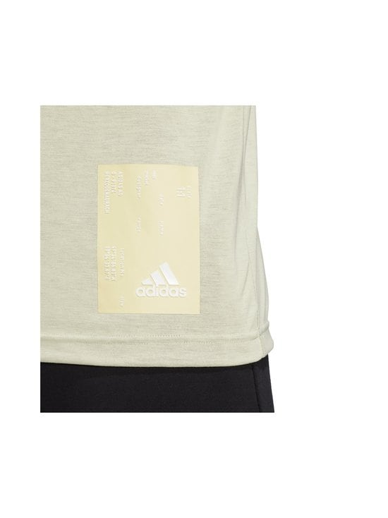 adidas Performance - Inside Mesh Tech Tee -paita - YELLOW TINT | Stockmann - photo 6