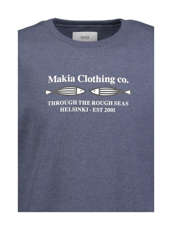 Makia - Morten Sweatshirt -collegepaita - 640 BLUE | Stockmann - photo 2