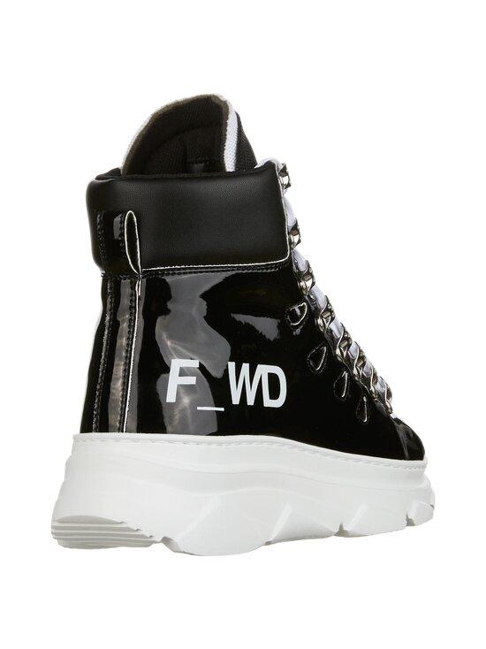 F_WD - High Top Chunky Sole -sneakerit - 999 BLACK / BLACK / WHITE   Stockmann - photo 5