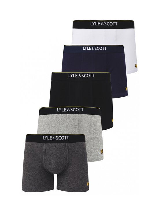 Lyle & Scott - Jackson Trunk -bokserit 5-pack - 151 | Stockmann - photo 1