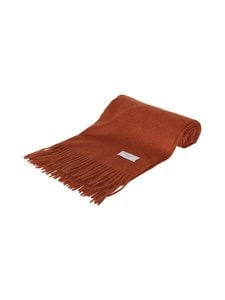 Les Deux - Solid Wool Scarf -merinovillahuivi - 805805-RUSTY BROWN | Stockmann