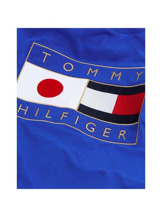 Tommy Hilfiger - Japan Tokyo Flag Graphic Tee -paita - C65 COBALT | Stockmann - photo 3