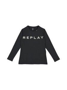 Replay & Sons - Stretch Jersey LS Top -paita - 397 BLACKBOARD | Stockmann