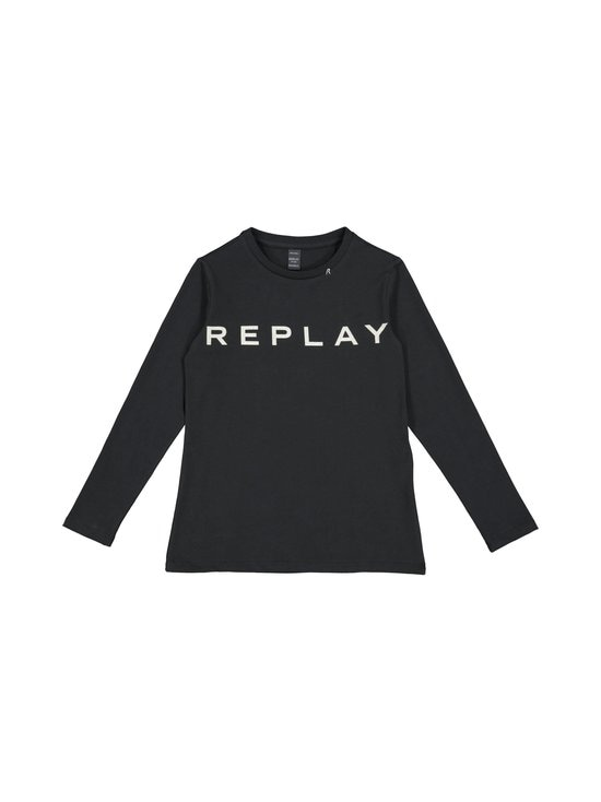 Replay & Sons - Stretch Jersey LS Top -paita - 397 BLACKBOARD | Stockmann - photo 1