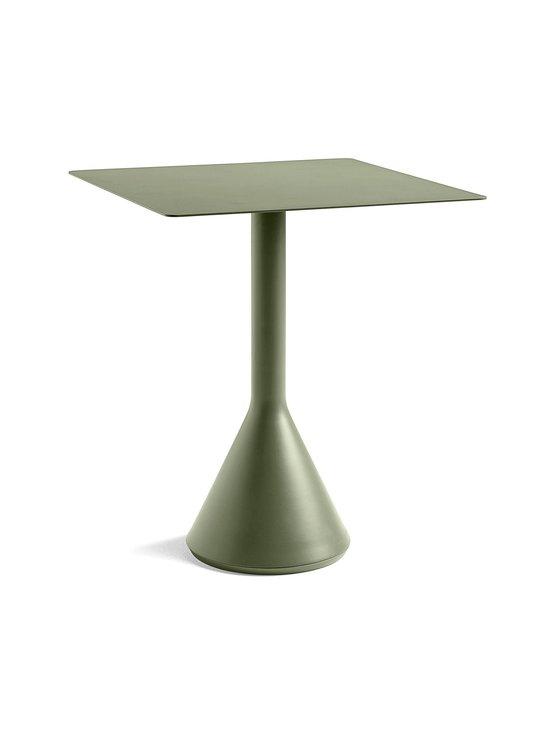 HAY - Palissade Cone -pöytä 65 x 65 cm - OLIVE (OLIIVINVIHREÄ) | Stockmann - photo 1