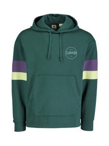Levi's - Hoodie Block Color -huppari - 0004 FOREST GREEN | Stockmann