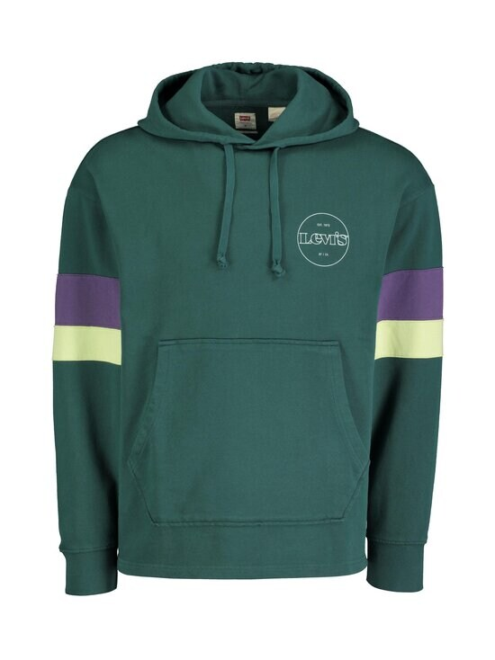 Levi's - Hoodie Block Color -huppari - 0004 FOREST GREEN | Stockmann - photo 1