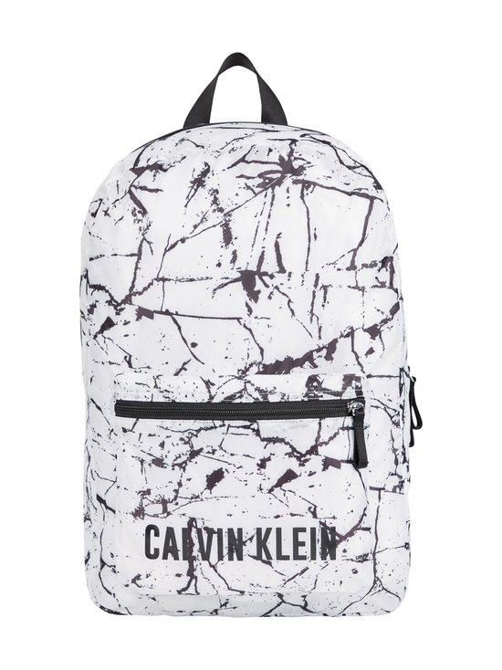 Calvin Klein Performance - Printed Backpack -reppu - 953 WHITE MARBLE PRINT | Stockmann - photo 1